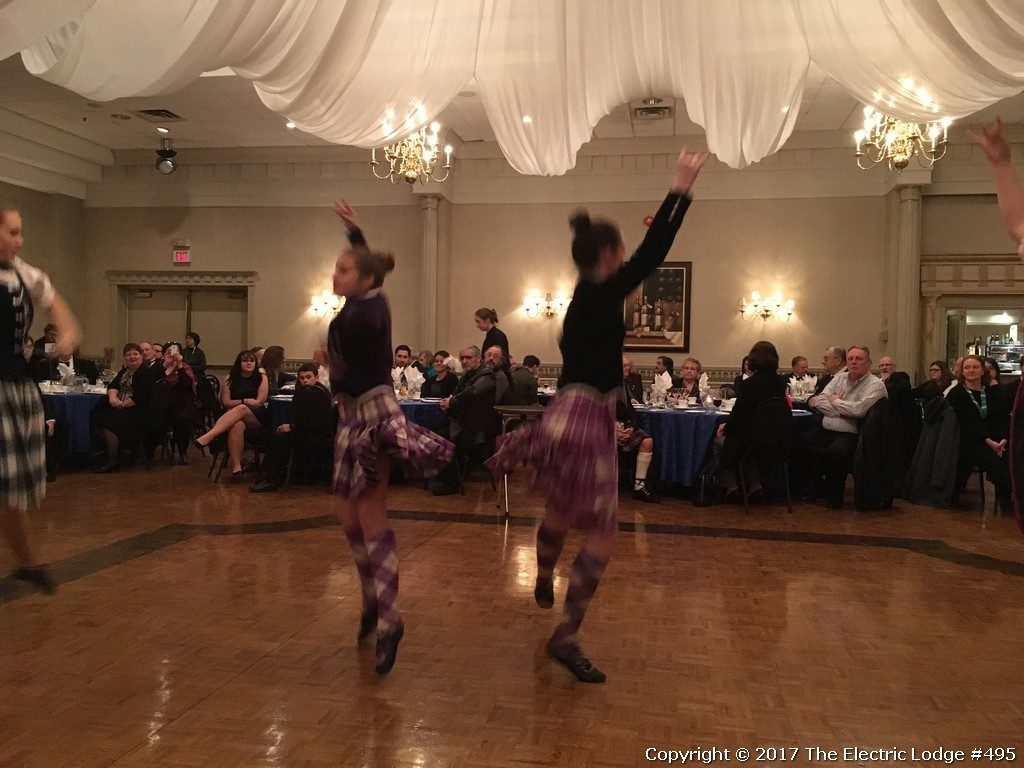 Robbie Burns Night 2017 - Highland Dancers