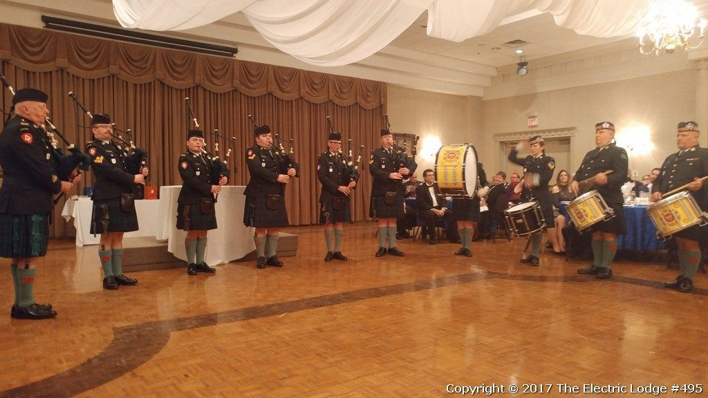 Robbie Burns Night 2017 - Argyll & Sutherland Canada