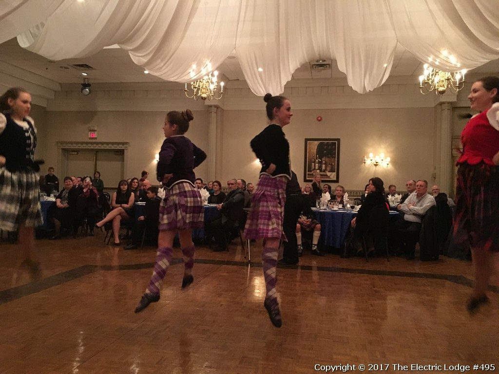 Robbie Burns Night 2017 - Highland Dancers